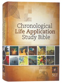 NLT Chronological Life Application Study Bible (Black Letter Edition)