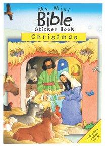 My Mini Bible Sticker Book: Christmas