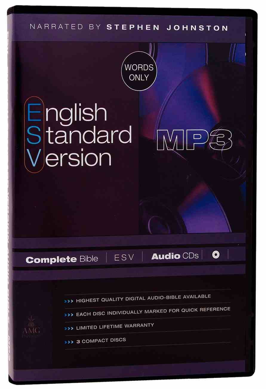 ESV Complete Bible on Audio MP3 CDS (3 Cds)