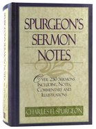 Spurgeon's Sermon Notes Hardback