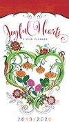 2019/2020 2 Year Pocket Diary/Planner: Joyful Hearts