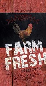 2019/2020 2 Year Pocket Diary/Planner: Farm Fresh