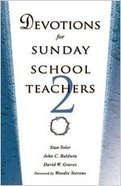 Devotions For Sunday School Teachers 2 Paperback