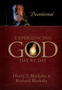 Experiencing God Day By Day: Devotional Hardback