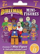 Bibleman Mini Figure , Ages 4+ (Contains 1 Mini-figure & 1 Four-color Trading Card From Series 1) Soft Goods