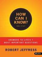 How Can I Know? (Member Book) Paperback