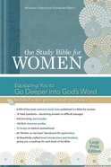 HCSB Study Bible For Women Large Print Indexed Hardback