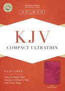 KJV Compact Ultrathin Bible Pink Imitation Leather