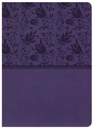 NKJV Holman Study Bible Purple Imitation Leather