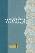 HCSB Study Bible For Women Personal Size Yellow/Gray Linen