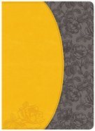 NKJV Holman Study Bible Canary/Slate Grey Imitation Leather