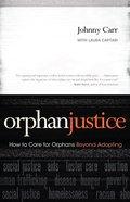 Orphan Justice Paperback