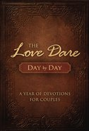 Love Dare Day By Day Hardback