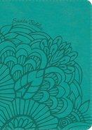 Rvr 1960 Biblia Letra Grande Tamano Manual Aqua Indice (Red Letter Edition) (Giant Print Indexed) Imitation Leather