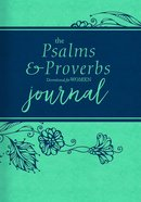 The Psalms and Proverbs Devotional For Women (Journal) Imitation Leather