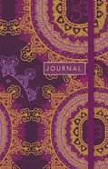 Journal: Star Floral, Sermon Notes Journal With CSB Verse on Every Page