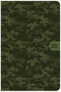 CSB On-The-Go Bible Green Camouflage (Red Letter Edition) Imitation Leather