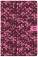 CSB On-The-Go Bible Pink Camouflage (Red Letter Edition) Imitation Leather