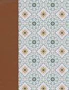 Nvi Biblia De Apuntes Azulejos Color Salvia (Red Letter Edition) Imitation Leather