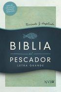 Nvi Biblia Del Pescador Letra Grande Verde Hardback