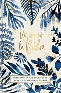 Un Ano En La Biblia, Acuarela (One Year In The Bible, Watercolor) Hardback
