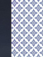 Nvi Biblia De Apuntes Blanco Y Azul (Red Letter Edition) Imitation Leather