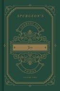 Spurgeon's Sermons For Today: Joy