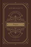 Spurgeon's Sermons For Today: Prayer Hardback