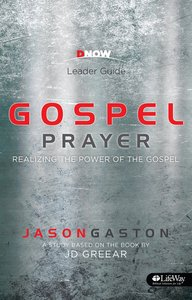 Gospel Prayer (Leader Guide)