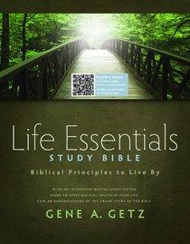 HCSB Life Essentials Study Bible Brown/Blue