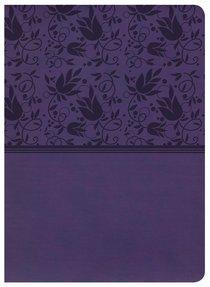 NKJV Holman Study Bible Purple Indexed