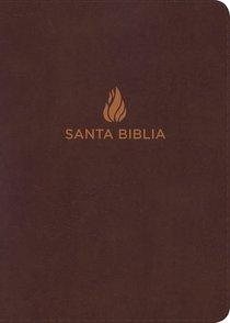 Rvr 1960 Biblia Letra Grande Tamano Manual Marron (Red Letter Edition) (Giant Print)