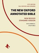 The NRSV New Oxford Annotated Bible (5th Edition)