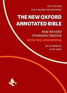 The NRSV New Oxford Annotated Bible With Apocrypha (5th Edition) Paperback