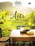 Verse Mapping Acts Video Study: Feasting on the Abundance of God's Word (Dvd) DVD