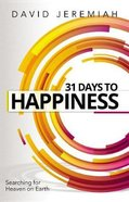 31 Days to Happiness eBook