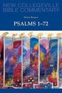 Psalms 1-72 (Volume 22) (New Collegeville Bible Commentary Series)
