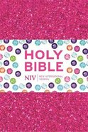 NIV Ruby Pocket Bible Pink Glitter