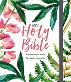 NIV Verse Mapping Bible Floral Pink