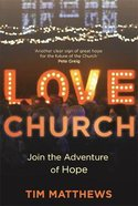Love Church: Restarting Communities of Hope Pb (Larger)