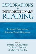Explorations in Interdisciplinary Reading Paperback