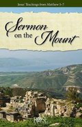 Sermon on the Mount (Rose Guide Series) Pamphlet