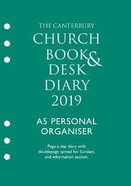 The Canterbury Church Book & Desk Diary 2019: A5 Personal Organiser Ring Bound