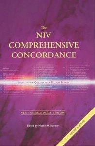 NIV Comprehensive Concordance (Anglicised Edition)