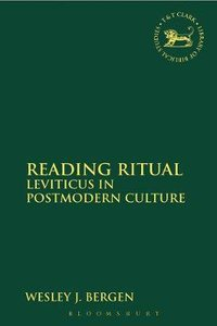Reading Ritual (Journal For The Study Of The Old Testament Supplement Series)