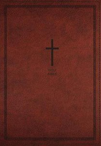 NKJV Deluxe Thinline Reference Bible Large Print Red (Red Letter Edition)