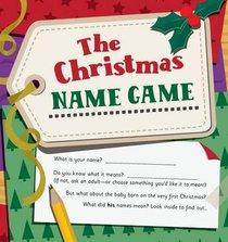 The Christmas Name Game
