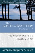 Gospel of Matthew (Volume 2) (Expositional Commentary Series) Paperback