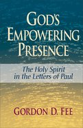 God's Empowering Presence Paperback