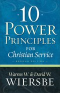 10 Power Principles For Christian Service Paperback
